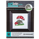 Hedgehog Mini Counted Cross Stitch Kit